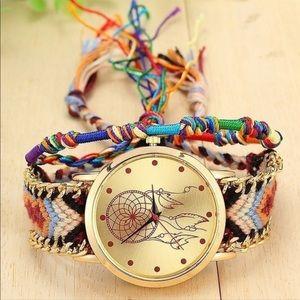 Dream catcher quartz watch